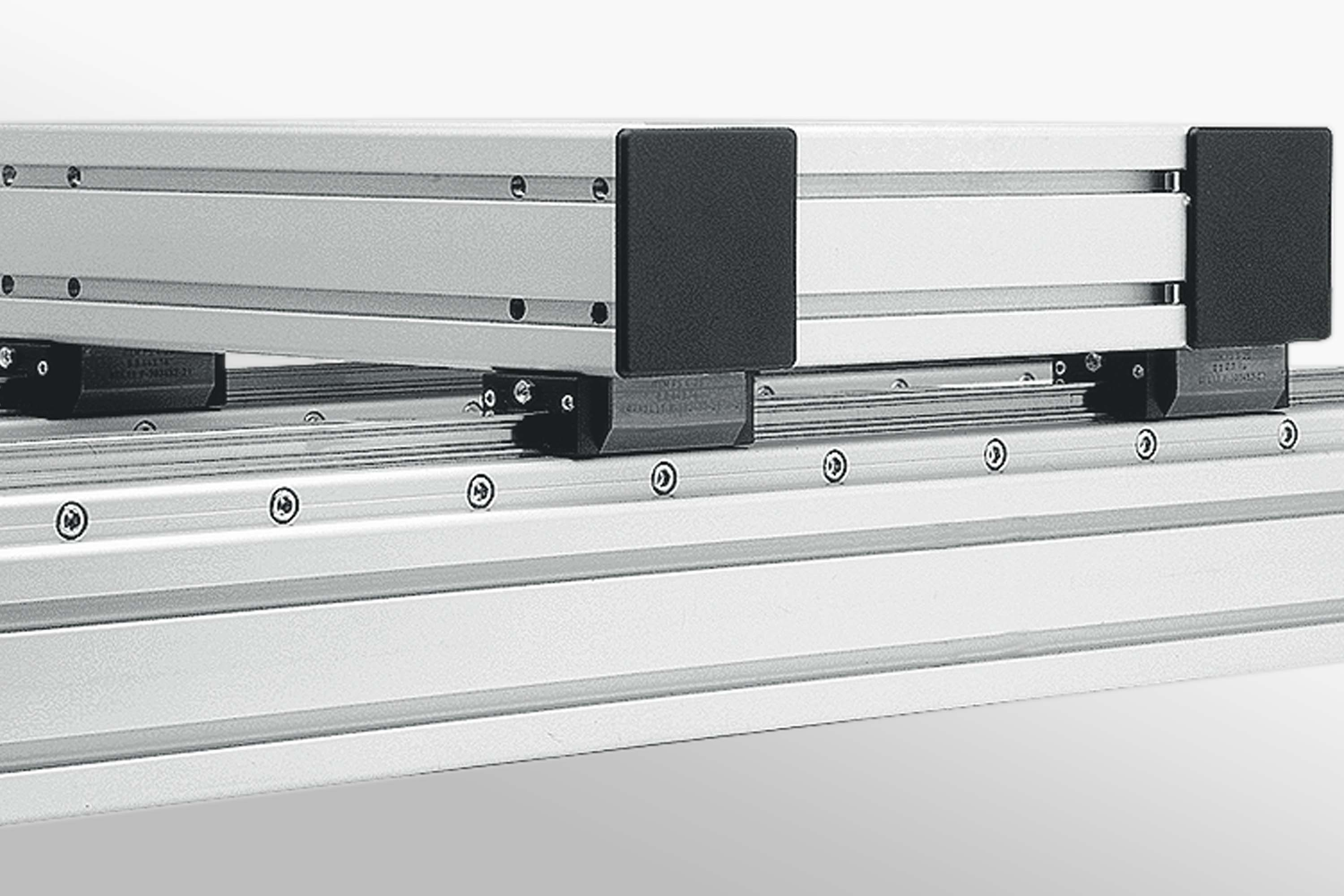 Profiled Steel Rail Guide Systems